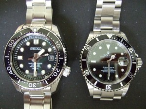 Rolex and Seiko