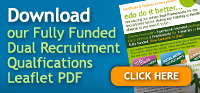 Download our fully funded dual recruitment qualifications pdf