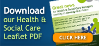 Download our Health & Social Care PDF