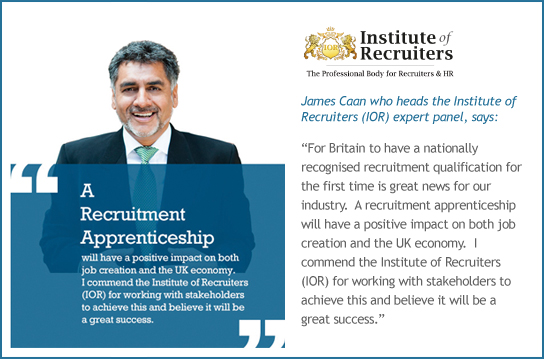 James Caan - The Institute of Recruiters